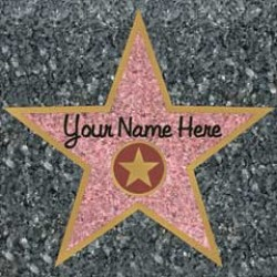 Star of Fame  Hollywood Star