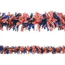 Patriotic Flag Garland
