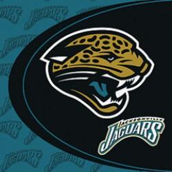 Jacksonville Jaguars Luncheon Napkins
