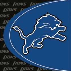 Detroit Lions Football Lunch Napkins