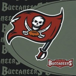 Tampa Bay Buccaneers Lunch Napkins