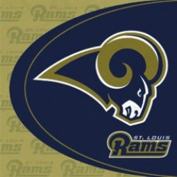St. Louis Rams Luncheon Napkins