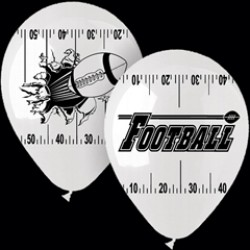 Football Theme Latex Balloons