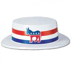 Democratic Party Skimmer Hat