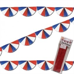 Patriotic Fan Garland