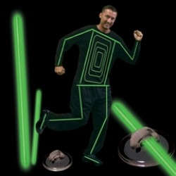 Green Glow Costume Kit