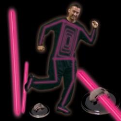 Pink Glow Costume Kit