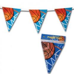 Basketball Pennant Banner