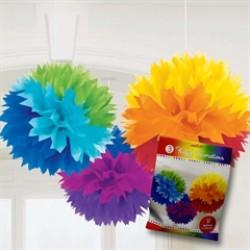 Rainbow Fluffy Decorations