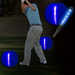 Blue Tee Box 12''  Markers - 2 Pack