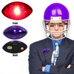 Purple Football LED Reflector