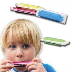 Assorted Color Plastic Harmonicas
