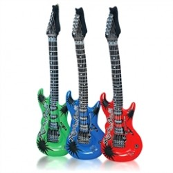 "Inflatable 40"" Guitars"