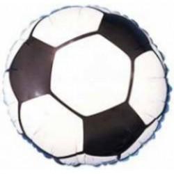 Soccer Ball Metallic Balloon - 18 Inch