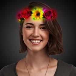 LED Sunflower Halo Headband