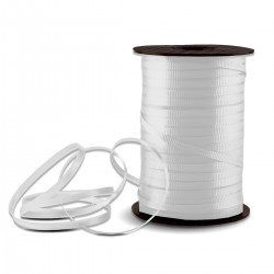 White Crimped Curling Ribbon - 500 Yards