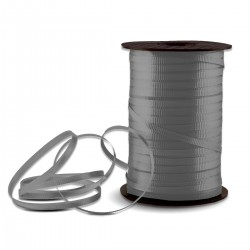 Silver Crimped Curling Ribbon - 500 Yards