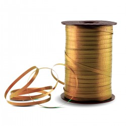 Gold Crimped Curling Ribbon - 500 Yards