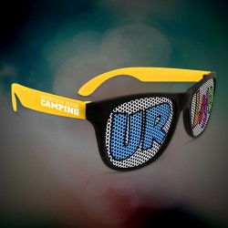 Custom Yellow Neon Billboard Sunglasses