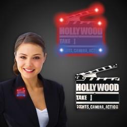 Flashing Hollywood Clapboard LED Blinkies