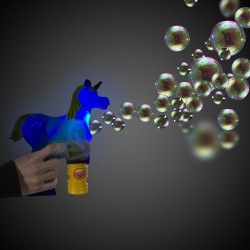 Magical LED Unicorn Bubble Gun