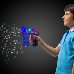 LED Translucent Bubble Gun