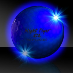 Blue Night Flyer Golf Ball