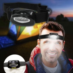 "2 1/4"" Head Light with Elastic Headband"