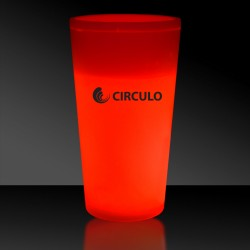 Red 12 Ounce Glow Cups