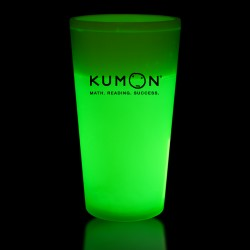 Green 16 Ounce Glow Cups