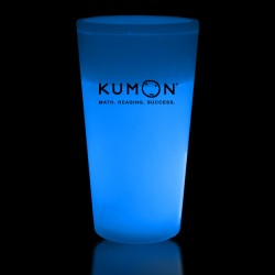 Blue 16 Ounce Glow Cups