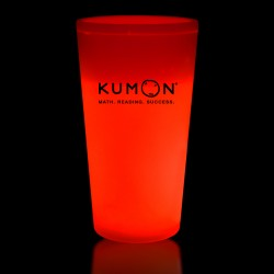 Red 16 Ounce Glow Cups