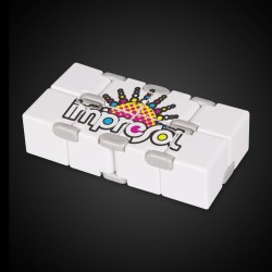 White Infinite Cube