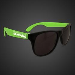 Green Neon Sunglasses