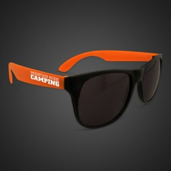 Orange Neon Sunglasses