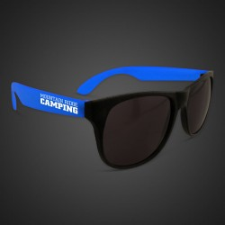 Blue Neon Sunglasses