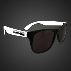 White Neon Sunglasses