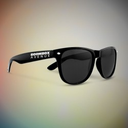 Premium Black Classic Retro Sunglasses