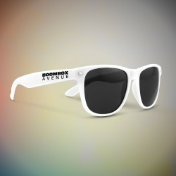 Premium White Classic Retro Sunglasses