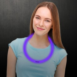 Purple Glow Necklaces