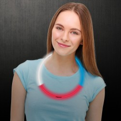 Red-White-Blue Glow Necklaces