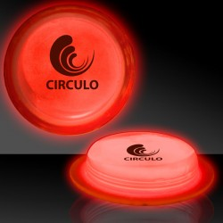 "3"" Red Glow Circle Badges"