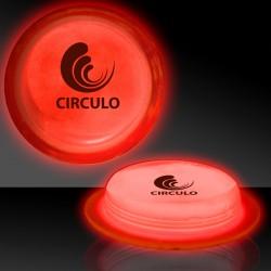 """3"""" Red Glow Circle Badges"""