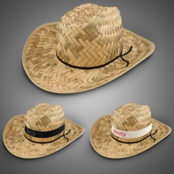 Adult Barn Dance Hat (Imprintable Bands Available)