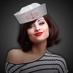 White Sailor Hat