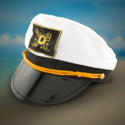 White Yacht Caps