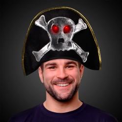 Flashing LED Pirate Hat
