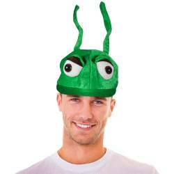 Green Antenna Hat