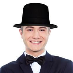Black Velour Top Hats