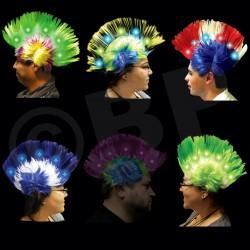 LED Mohawk Wigs